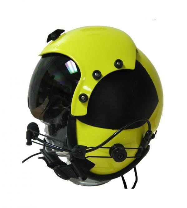 Flight Helmet Communications